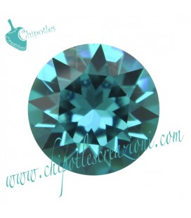 Chaton Swarovski® 1088 SS39 8 mm Blue Zircon (6 pezzi)