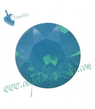 Chaton Swarovski® 1088 SS39 8 mm Caribbean Blue Opal
