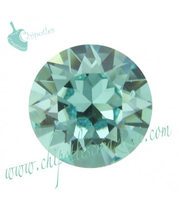 Chaton Swarovski® 1088 SS39 8 mm Light Turquoise