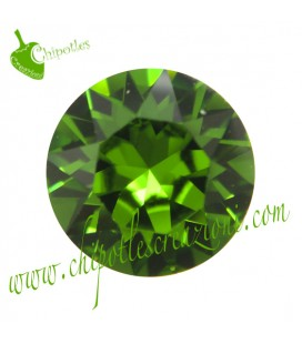 Chaton Swarovski® 1088 SS39 8 mm Fern Green