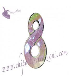Ciondolo Infinito Infinity Swarovski® 6792 18 mm Crystal Paradise Shine