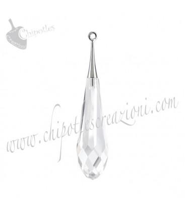 Ciondolo Goccia Swarovski® Pure Drop Pendant tr.cap 6532 21 mm Crystal
