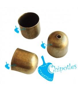 Terminale Capocorda 10x11 mm color Bronzo Antico