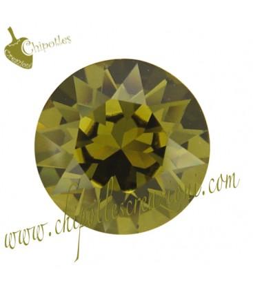 Chaton Swarovski® 1088 SS39 8 mm Khaki