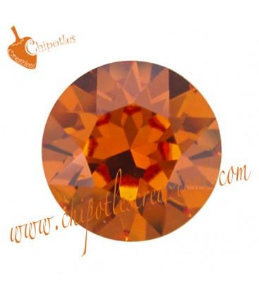 Chaton Swarovski® 1088 SS39 8 mm Tangerine