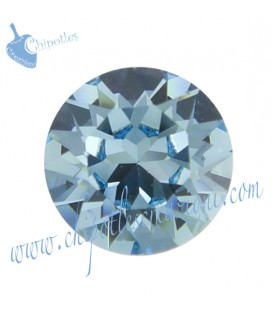 Chaton Swarovski® 1088 SS39 8 mm Aquamarine