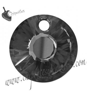 Ciondolo Swarovski® Sun Pendant 6724 12 mm Crystal Silver Night