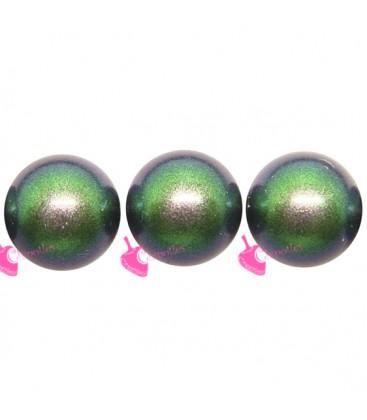 Perle Swarovski® 5810 6 mm Crystal Scarabaeus Green Pearl