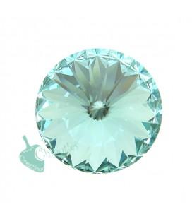 Rivoli Swarovski® 1122 12 mm Light Turquoise (2 pezzi)