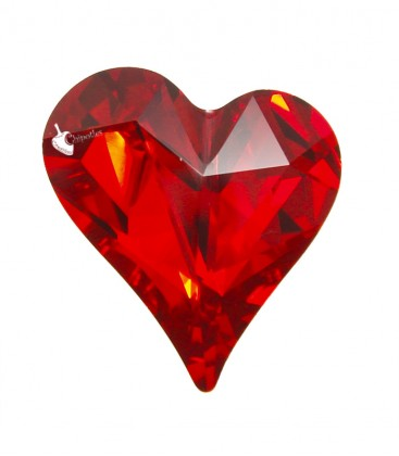 Cuore Swarovski® 4810 13x12 mm Light Siam