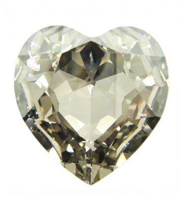Cuore Swarovski® 4827 28 mm Crystal Silver Shade