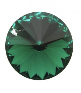 Rivoli Swarovski® 1122 12 mm Emerald