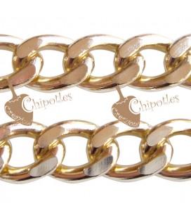 Catena Groumette Grande 20x15x4 mm colore Oro