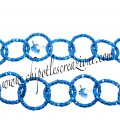 Catena Diamantata 16 mm Alluminio colore Bluette