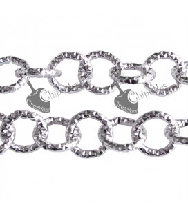 Catena Diamantata 12 mm Alluminio Vari Colori (1 metro)