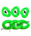 Maglia in Resina 24x18 mm colore Verde