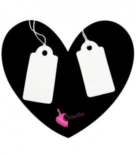 Cartellino Prezzi per Bijoux (100 pezzi)