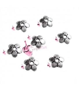 Coppette Copriperla Fiorellino 6 mm Vari Colori (100 pezzi)