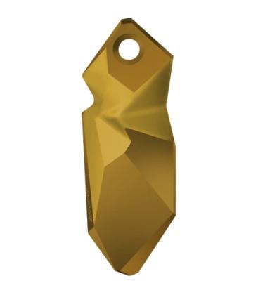 Ciondolo Kaputt Swarovski® 6912 28 mm Crystal Dorado