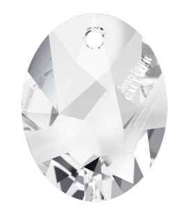 Ciondolo Kaputt Oval Swarovski® 6910 26 mm Crystal