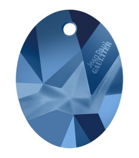Ciondolo Kaputt Oval Swarovski® 6910 26 mm Crystal Metallic Blue