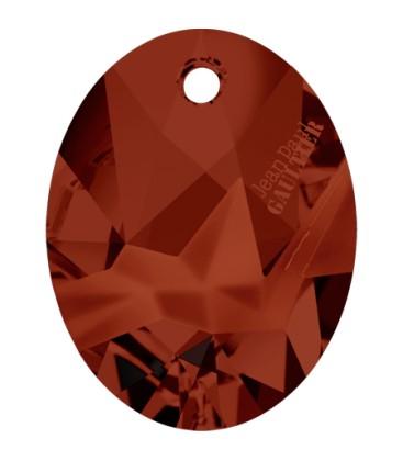 Ciondolo Kaputt Oval Swarovski® 6910 26 mm Crystal Red Magma