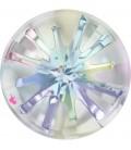 Swarovski® 1695 14 mm Sea Urchin Crystal Aurora Boreale