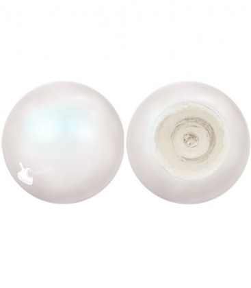 Cabochon Swarovski® 5817 8 mm Crystal Pearlescent White Pearl