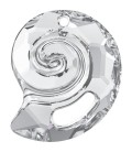 Ciondolo Sea Snail PF Swarovski® 6731 28 mm Crystal