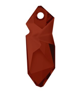Ciondolo Kaputt Swarovski® 6912 40 mm Crystal Red Magma