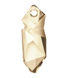 Ciondolo Kaputt Swarovski® 6912 40 mm Crystal Golden Shadow