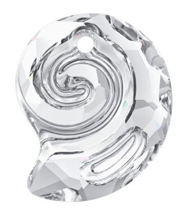 Ciondolo Sea Snail PF Swarovski® 6731 14 mm Crystal