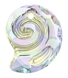 Ciondolo Sea Snail PF Swarovski® 6731 14 mm Crystal AB