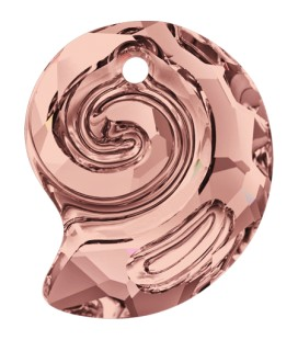 Ciondolo Sea Snail PF Swarovski® 6731 14 mm Blush Rose