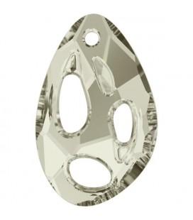 Ciondolo Radioralian Swarovski® 6730 34x22 mm Crystal Silver Shade