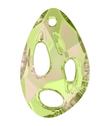 Ciondolo Radioralian Swarovski® 6730 34x22 mm Crystal Luminous Green