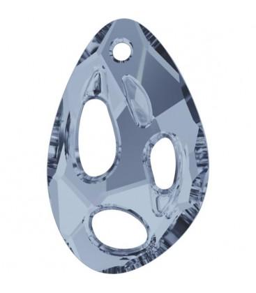 Ciondolo Radioralian Swarovski® 6730 34x22 mm Crystal Blue Shade
