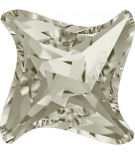 Twister Swarovski® 4485 17 mm Crystal Silver Shade