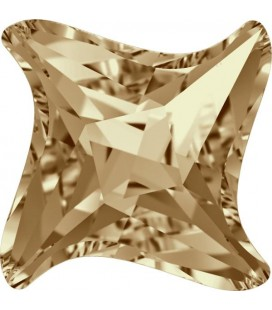Twister Swarovski® 4485 17 mm Crystal Golden Shadow