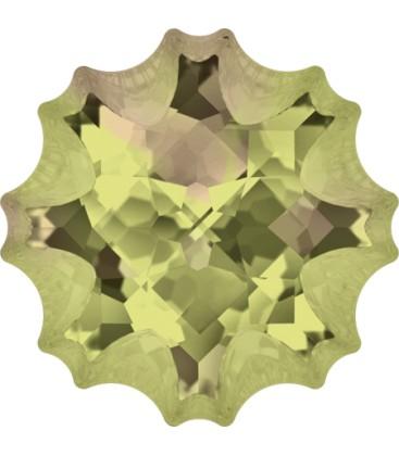 Jelly Fish Swarovski® 4195 14 mm Crystal Luminous Green