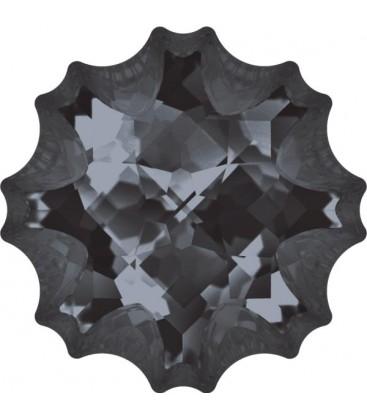 Jelly Fish Swarovski® 4195 14 mm Crystal Silver Night