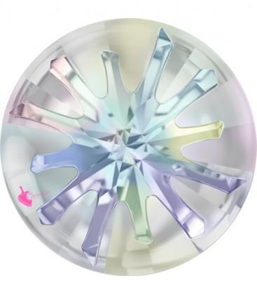 Swarovski® 1695 10 mm Sea Urchin Crystal Aurora Boreale