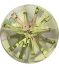Swarovski® 1695 14 mm Sea Urchin Crystal Luminous Green