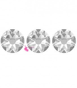 Flat Backs Hotfix Swarovski® Xirius Rose 2078 SS30 6,41 mm Crystal (12 pezzi)