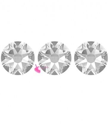 Flat Backs Hotfix Swarovski® Xirius Rose 2078 SS30 6,41 mm Crystal (12 pezzi)