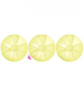 Flat Backs No Hotfix Swarovski® Xirius Rose 2088 SS16 3,90 mm Powder Yellow (36 pezzi)