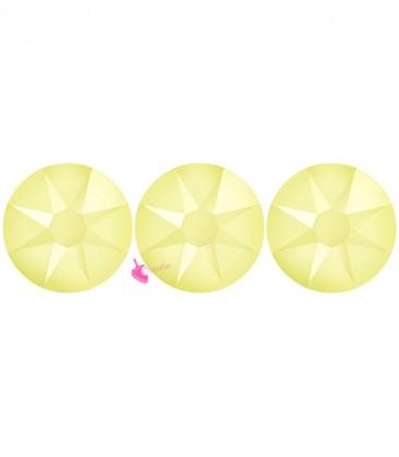 Flat Backs No Hotfix Swarovski® Xirius Rose 2088 SS16 3,90 mm Powder Yellow