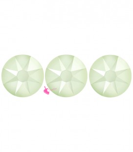 Flat Backs No Hotfix Swarovski® Xirius Rose 2088 SS16 3,90 mm Powder Green (36 pezzi)