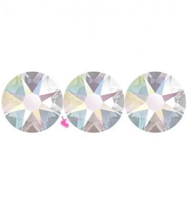 Flat Backs No Hotfix Swarovski® Xilion Rose 2058 SS16 3,90 mm Crystal AB (36 pezzi)