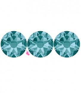 Flat Backs No Hotfix Swarovski® Xilion Rose 2058 SS16 3,90 mm Blue Zircon (36 pezzi)